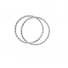 Pair of Braided Rings