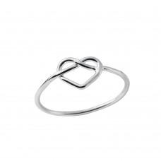 Braided Heart Ring