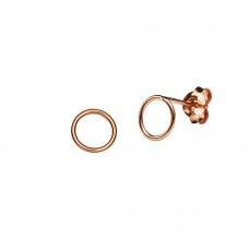 Circle Stud Earring 3 MM