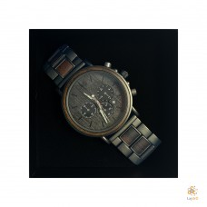 Luxury Black Walnut Watch