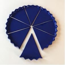 1/8 Plate Royal Blue Glossy