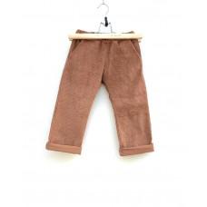 Pants - Ribbed velvet Caramel