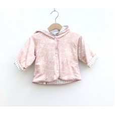 Baby Jacket - Marble Pink