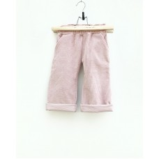 Pants - Ribbed velvet Old Pink