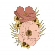 Stickers - Anemones
